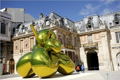 Jeff Koons a Versailles