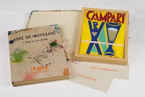 It@rt - Fortunato Depero, Evvivaaaaa! Bitter Campari, 1926-27 - scatola