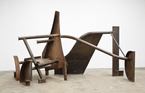 Anthony Caro, River Song, 2012 - Collezione dell'artista - © Barford Sculptures Ltd. Photo: Mike Bruce, courtesy Gagosian Gallery