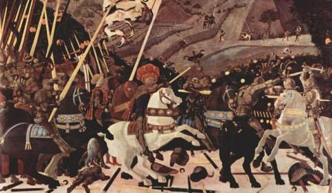 Paolo Uccello, Battaglia di San Romano, 1435-1460