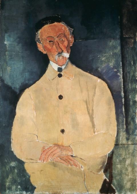 Amedeo Modigliani, Ritratto di Lepoutre, 1916 © Pinacothèque de Paris