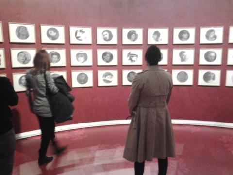 Francesco Vezzoli - The Trinity #1: Galleria Vezzoli - veduta della mostra presso il Maxxi, Roma 2013