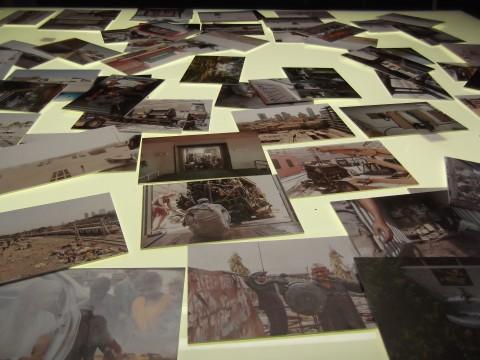 Il Viaggio di Roland Ultra - veduta della mostra presso Assab One, Milano 2013