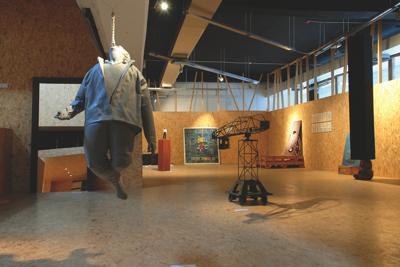 Ars Aevi Art Depot, Centro Skenderija, Sarajevo. Courtesy Tarik Zahirovic