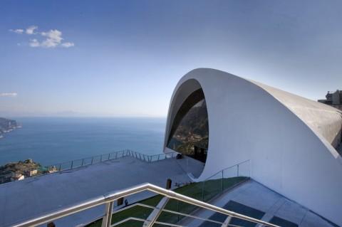 L'Auditorium di Oscar Niemeyer a Ravello