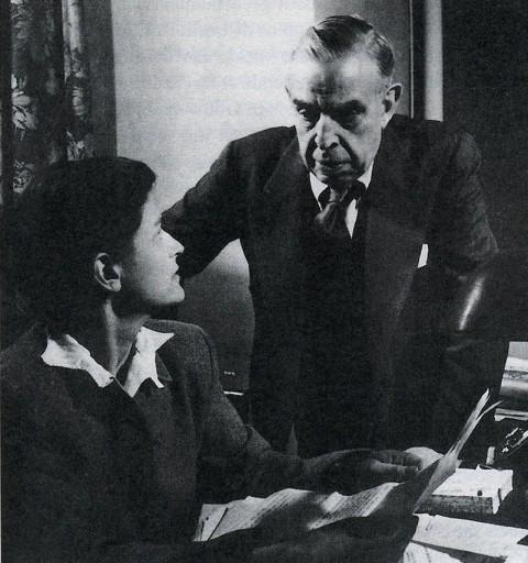 Elisabeth Mann e Giuseppe Antonio Borgese, Chicago