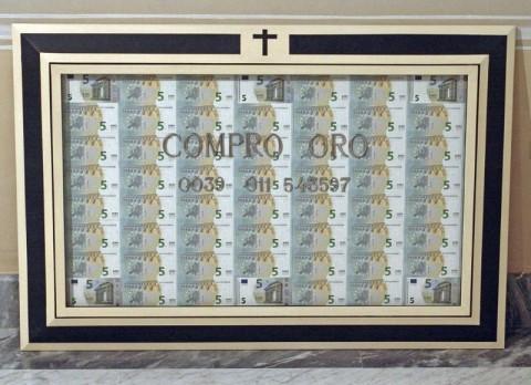 Gianni Colosimo – L'arcana profezia delle sette vacche tibetane – veduta della mostra presso Palazzo Binelli, Carrara 2013 - photo V.E. Brambilla