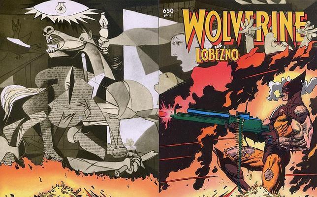 Guernica sui fumetti (foto marvel)