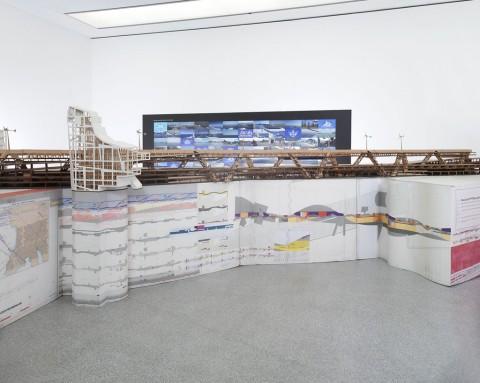 Little Movements II - veduta della mostra presso Museion, Bolzano 2013 - photo Augustin Ochsenreiter