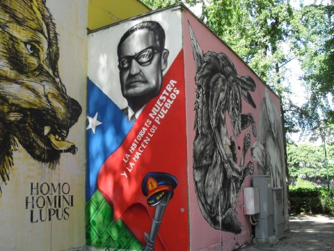 Murales di Rems 182, James Calinda e Centina