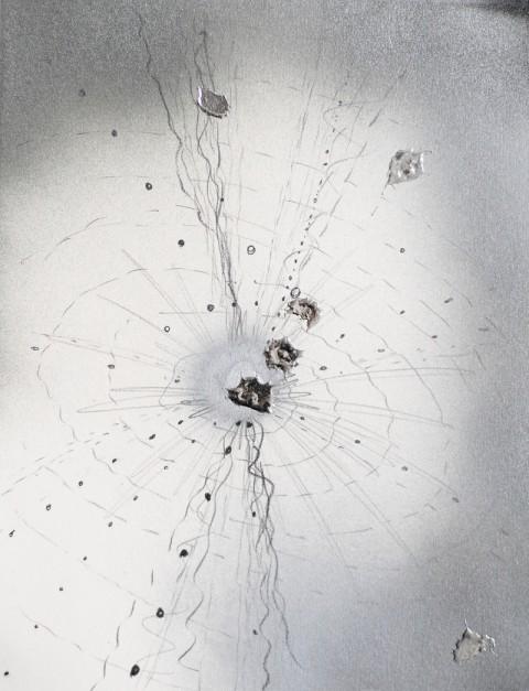 Grazia Toderi, Orbite Rosse # 73, 2009 - Courtesy Galleria Vismara
