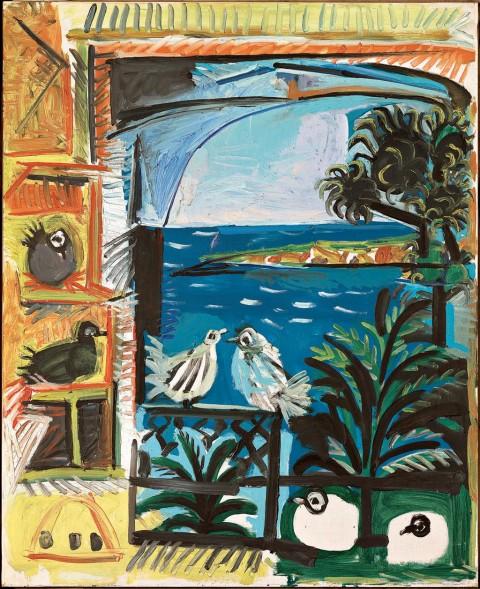 Pablo Picasso, Les pigeons, Cannes, 1957 - Museu Picasso de Barcelona