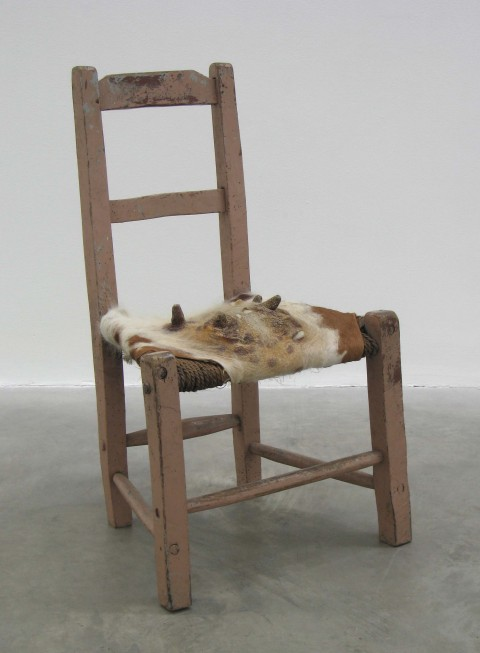 Dorothy Cross, Udder Chair, 2005 - Courtesy l'artista e Kerlin Gallery, Dublino
