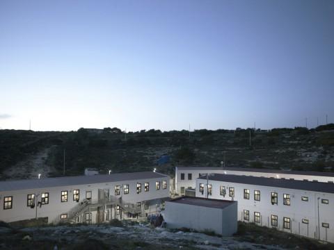 Lampedusa, CIE