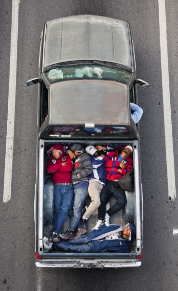 Alejandro Cartagena, The Car Poolers - Photoquai 2013