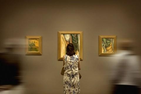Le Grand Atelier du Midi - veduta della mostra presso il Musée Granet, Aix-en-Provence 2013 - photo Alussi Ludovic