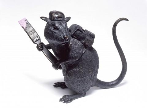 Banksy, Bronze Rat, 2006 - collezione Iannaccone