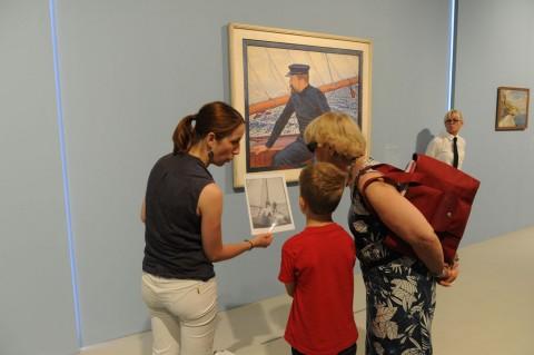 Paul Signac - Les couleurs de l'eau - veduta della mostra presso il Musée Fabre, Montpellier 2013 © Montpellier Agglomération