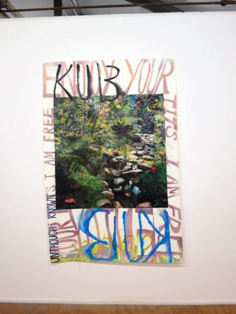Kaari Upson - Sleep with the key - veduta della mostra presso la Galleria Massimo De Carlo, Milano 2013