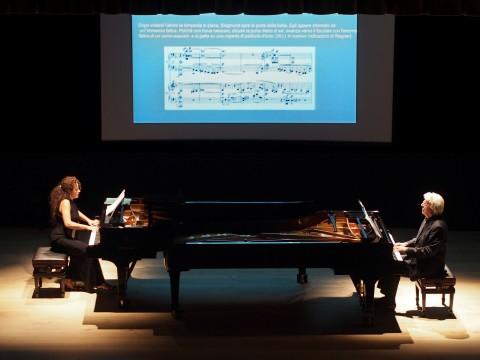 Alessandra Gentile e Cord Garben - Teatro Cucinelli  di Solomeo  - Sagra Umbra 2013 - photo Adriano Scognamillo