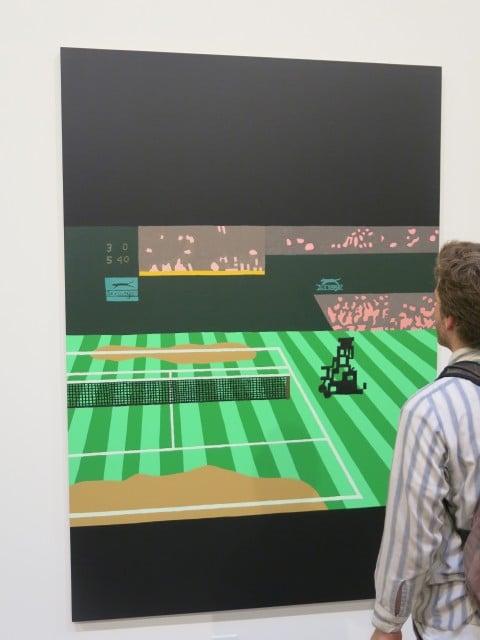 Jonas Wood @ Anton Kern Gallery