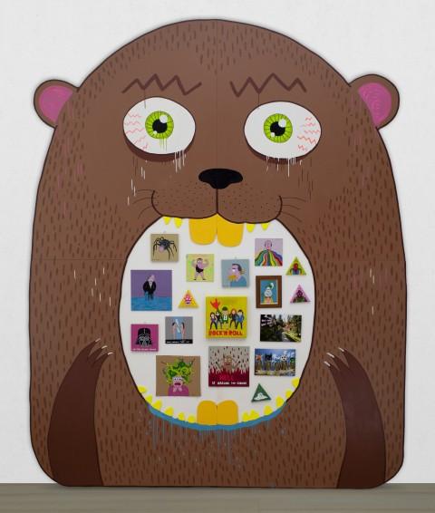 Laurina Paperina, Giant Marmot (Marmottona), 2013 - Courtesy l'artista e D406, Modena