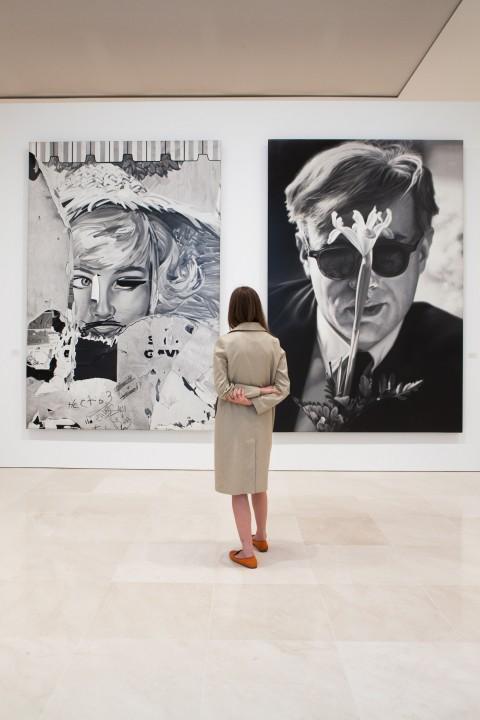 Dennis Hopper. En el camino - veduta della mostra presso il Museo Picasso, Malaga 2013