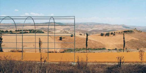 Marco Navarra, Linear park between Caltagirone and Piazza Armerina (Italy), 2003-2005