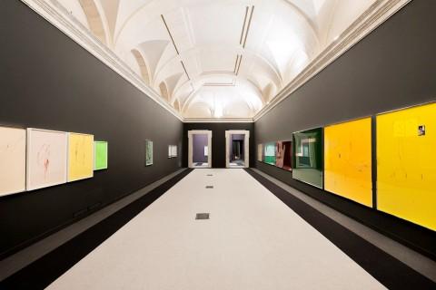 Sterling Ruby - Chron II - veduta della mostra presso la Fondazione Memmo, Roma 2013 - Courtesy dell'artista - photo Thomas Munns