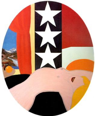 Tom Wesselmann, Great American Nude #40, 1962 - collezione Cari Sacks