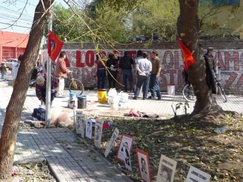 Murales a La Legua, in ricordo di alcuni desaparecidos