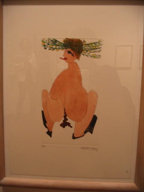 Carol Rama - Oltre l'opera grafica - veduta della mostra presso il Museo Comunale, Ascona 2013