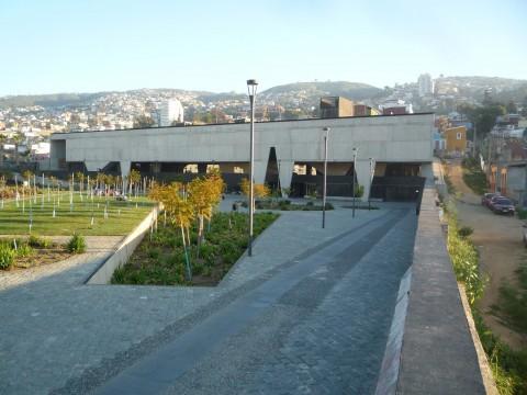 L'ex-carcere di Valparaiso, recentemente trasformato in centro culturale