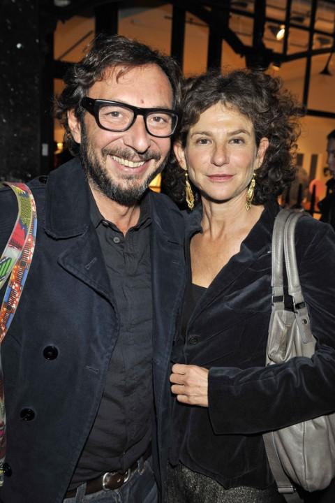 Suzy Shammah insieme al marito