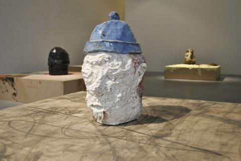 Jesse Wine, Travelling white man, veduta della mostra presso la CO2 Gallery, Roma 2013