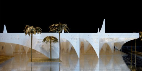 Labics, DQ Celebration Hall, Riyadh, Saudi Arabia - International Competition - Modello