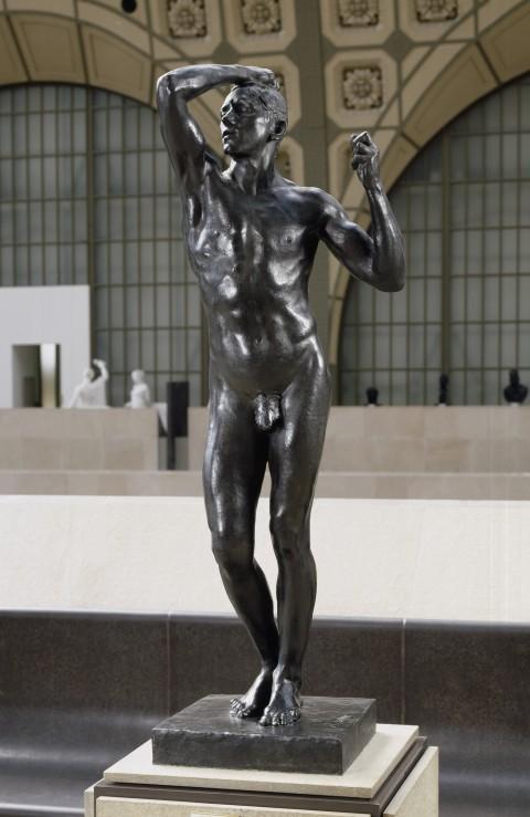 Auguste Rodin, L'Age d'airain, 1877-1880 - Paris, Musée d'Orsay - © Musée d'Orsay, dist. RMN / Patrice Schmidt