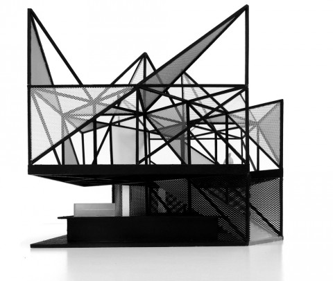 Labics, Obikà Kiosk, Heathrow T2, London - International Competition - Modello