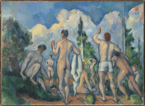 Paul Cézanne, Baigneurs, vers 1890 - Paris, Musée d'Orsay - © RMN (Musée d'Orsay) / Hervé Lewandowski