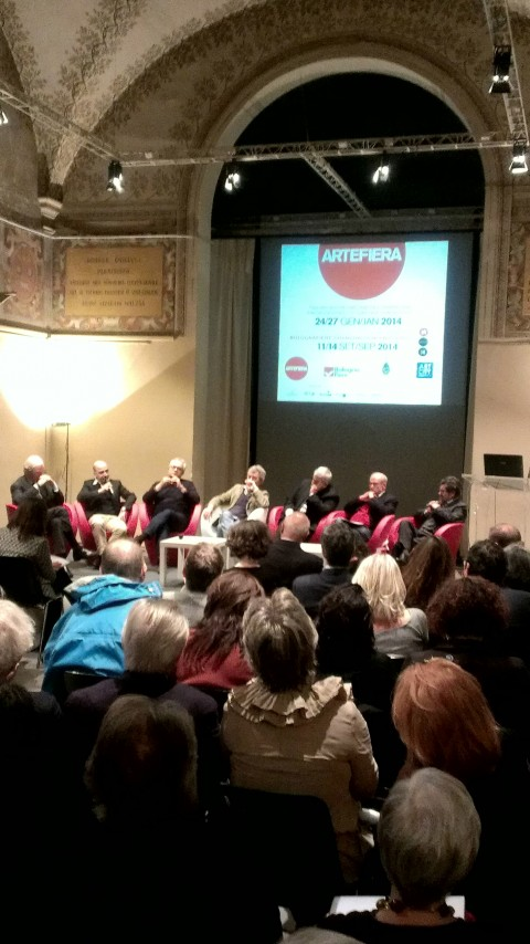 La presentazione di Arte Fiera a Bologna