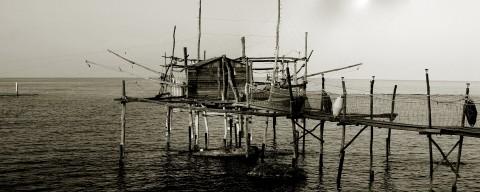 Trabocco sulla costa adriatica