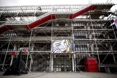 Lichtenstein al Pompidou
