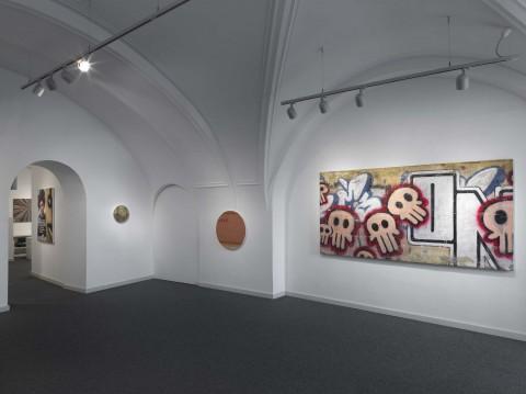 Andrea Facco - Il doppio gioco - veduta della mostra presso la Gallerua Goethe, Bolzano 2013 - photo Dario Lasagni - courtesy Galleria Goethe, Bolzano