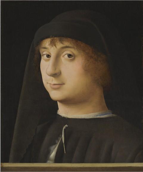 Antonello da Messina - Ritratto di giovane - 1470-74 - Philadelphia, Philadelphia Museum of Art (Coll. Johnson)