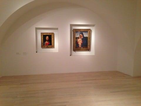 Antonello da Messina - veduta della mostra al MART, Rovereto 2013