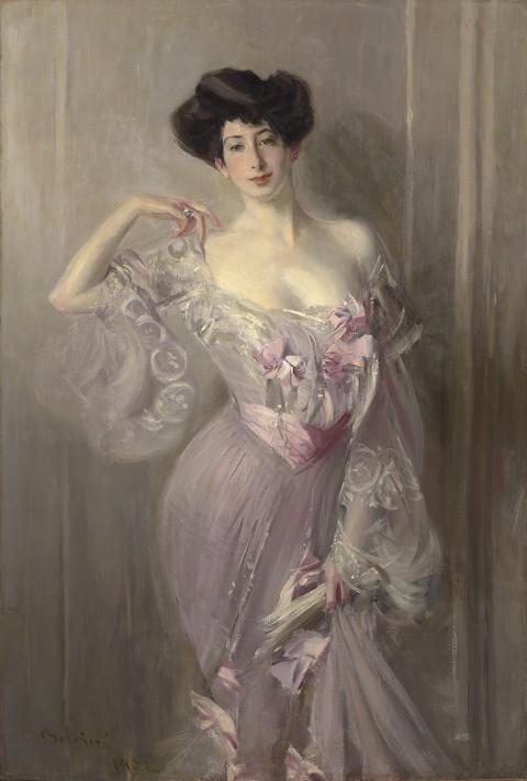 Giovanni Boldini, Ritratto di Betty Wertheimer, olio su tela, cm 155.5x103 - courtesy Robilant + Voena, Milano-Londra
