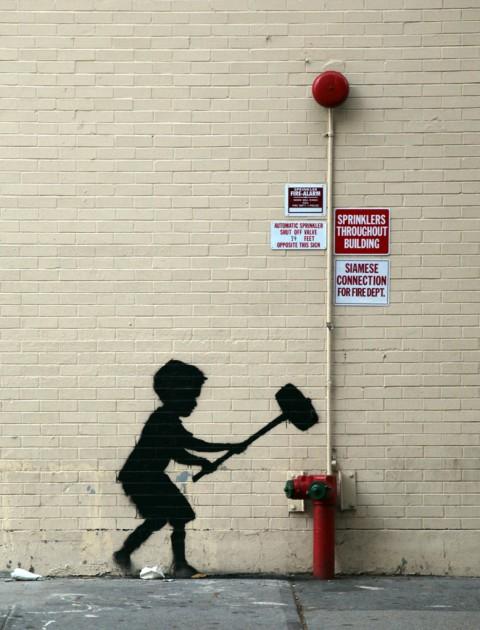 Banksy nell'Upper West Side