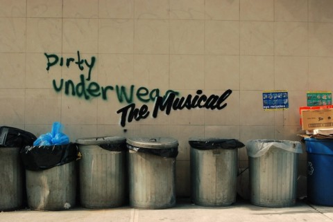 Banksy, Dirty Underwear. The Musical - prima
