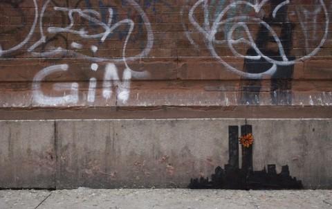 Banksy, Tribeca - prima
