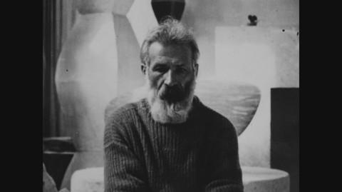 Constantin Brancusi nel film a lui dedicato